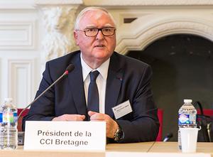 Jean François Garrec Président de la CCI  Bretagne