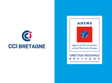 Logos CCI Bretagne et ADEME